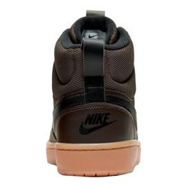 Buty Nike Court Borough Mid 2 Boot (GS) Jr BQ5440-200 czarne 1