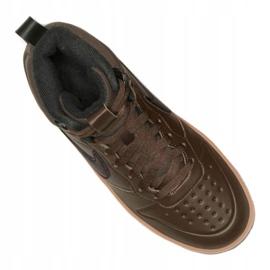 Buty Nike Court Borough Mid 2 Boot (GS) Jr BQ5440-200 czarne 2