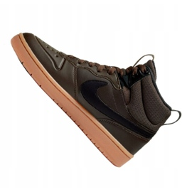 Buty Nike Court Borough Mid 2 Boot (GS) Jr BQ5440-200 czarne 4