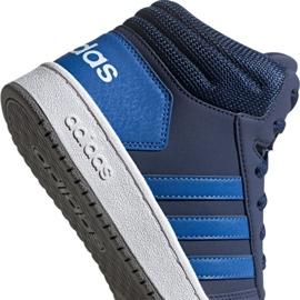 Buty adidas Hoops Mid 2.0 Jr EE6707 granatowe 2