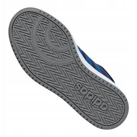 Buty adidas Hoops Mid 2.0 Jr EE6707 granatowe 4