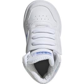 Buty adidas Hoops Mid 2.0 I Jr EE8550 białe 1