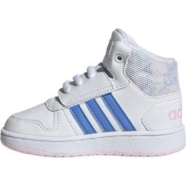 Buty adidas Hoops Mid 2.0 I Jr EE8550 białe 2