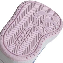 Buty adidas Hoops Mid 2.0 I Jr EE8550 białe 5