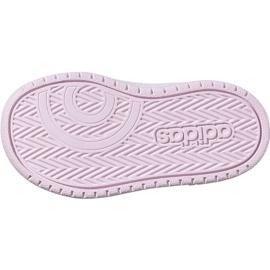 Buty adidas Hoops Mid 2.0 I Jr EE8550 białe 6