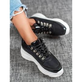 Marquiz Czarne Buty Sportowe 4