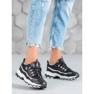 Yes Mile Sneakersy Z Brokatem czarne 1