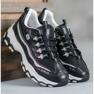 Yes Mile Sneakersy Z Brokatem czarne 3