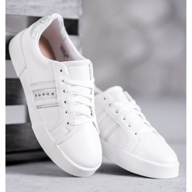 Bestelle Białe Buty Sportowe 3