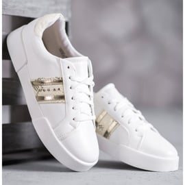 Bestelle Białe Buty Sportowe 4