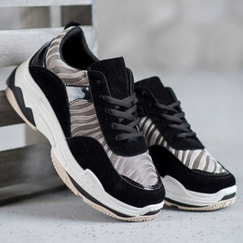 Kylie Sneakersy Zebra Print 1