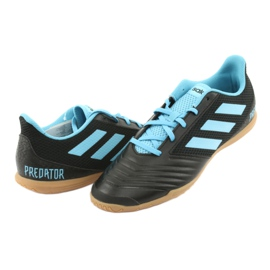 Buty halowe adidas Predator 19.4 In Sala M F35631 czarne 3