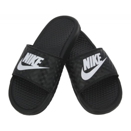 Klapki Nike Benassi Just Do It W 343881-011 czarne 2