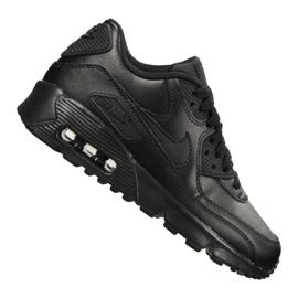 Buty Nike Air Max 90 Ltr Gs Jr 833412-001 czarne 2