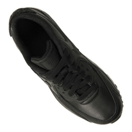 Buty Nike Air Max 90 Ltr Gs Jr 833412-001 czarne 3