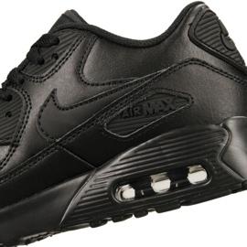 Buty Nike Air Max 90 Ltr Gs Jr 833412-001 czarne 4