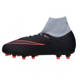 Buty Nike Hypervenom Phelon 3 Df Fg Jr 917772-400 niebieskie wielokolorowe 1