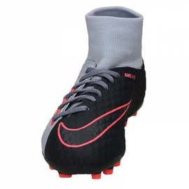 Buty Nike Hypervenom Phelon 3 Df Fg Jr 917772-400 niebieskie wielokolorowe 3