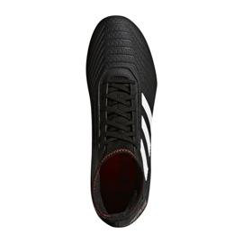 Buty piłkarskie adidas Predator 18.3 Fg M CP9301 czarne czarne 1