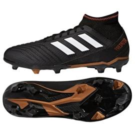 Buty piłkarskie adidas Predator 18.3 Fg M CP9301 czarne czarne 2