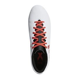 Buty piłkarskie adidas X 17.4 FxG M CP9196 wielokolorowe białe 3