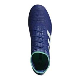 Buty piłkarskie adidas Predator 18.2 Fg M CP9293 niebieskie wielokolorowe 1