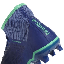 Buty piłkarskie adidas Predator 18.2 Fg M CP9293 niebieskie wielokolorowe 4
