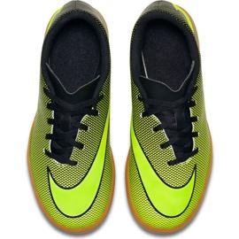 Buty halowe Nike Bravatax Ii Ic Jr 844438-070 zielone wielokolorowe 1