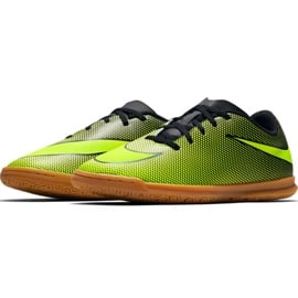 Buty halowe Nike Bravatax Ii Ic Jr 844438-070 zielone wielokolorowe 3