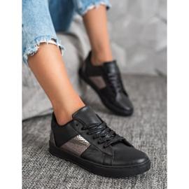 Emaks Trampki Fashion czarne 4