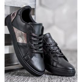 Emaks Trampki Fashion czarne 2