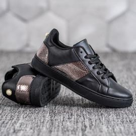Emaks Trampki Fashion czarne 3