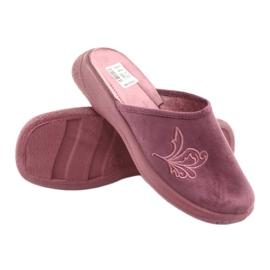 Befado obuwie damskie pu 019D096 fioletowe 4