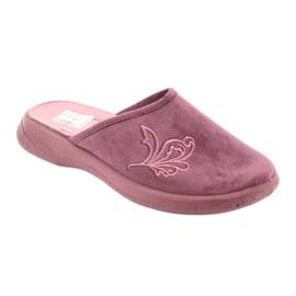 Befado obuwie damskie pu 019D096 fioletowe 2