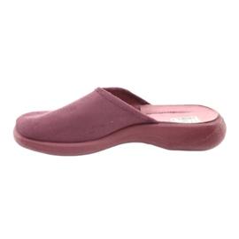 Befado obuwie damskie pu 019D096 fioletowe 3