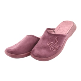 Befado obuwie damskie pu 019D096 fioletowe 5