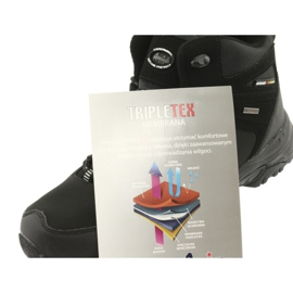 American Club American trekkingi buty zimowe z membraną czarne 6