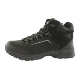 American Club American trekkingi buty zimowe z membraną czarne 2