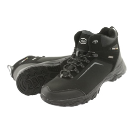 American Club American trekkingi buty zimowe z membraną czarne 4