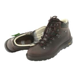 Grisport brązowe buty trekkingowe 5