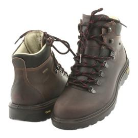 Grisport brązowe buty trekkingowe 3