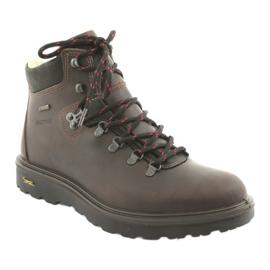 Grisport brązowe buty trekkingowe 1