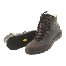 Grisport brązowe buty trekkingowe 4
