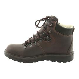 Grisport brązowe buty trekkingowe 2