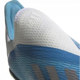 Buty piłkarskie adidas X 19.3 Ll Tf Jr EF9123 niebieskie niebieskie 4