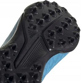 Buty piłkarskie adidas X 19.3 Ll Tf Jr EF9123 niebieskie niebieskie 5