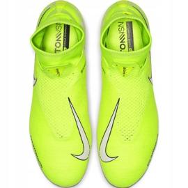 Buty piłkarskie Nike Phantom Vsn Elite Df Fg M AO3262-717 żółte żółte 1