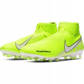 Buty piłkarskie Nike Phantom Vsn Elite Df Fg M AO3262-717 żółte żółte 3