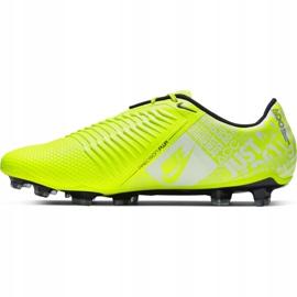 Buty piłkarskie Nike Phantom Venom Elite Fg M AO7540-717 żółte wielokolorowe 2