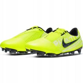 Buty piłkarskie Nike Phantom Venom Elite Fg M AO7540-717 żółte wielokolorowe 3